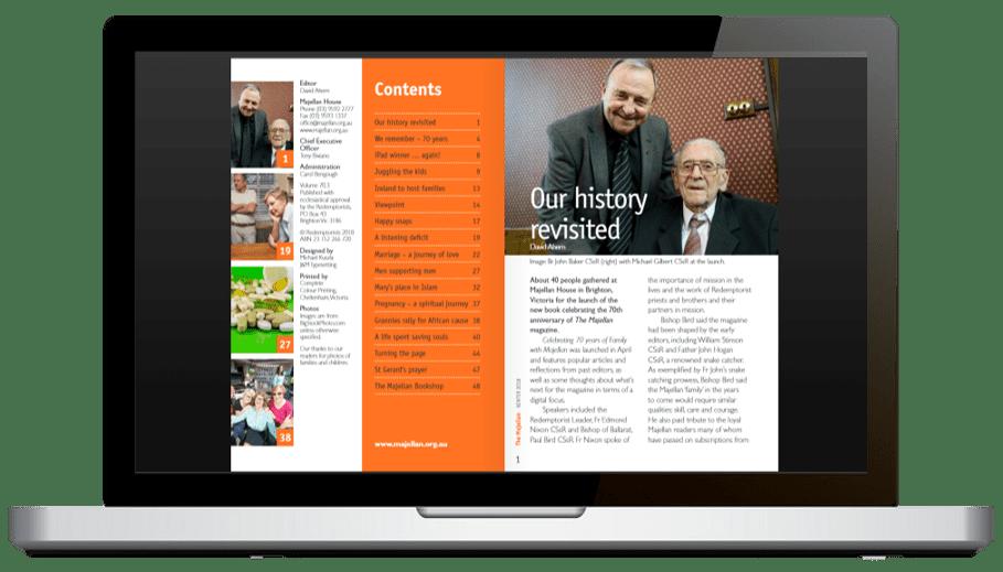 Majellan-Magazine digital version